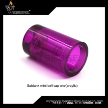 Colorful Replacement Glass Tube Subtank Mini Bell Cap (acrylic) 2 Style