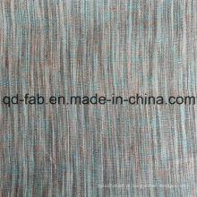 China Tingido de laço tecido de linho 100% (QF16-2476)