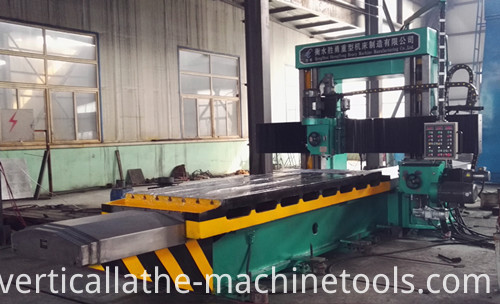 Horizontal cnc mill