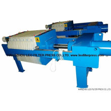 Leo Hydraulic Filter Presses by Different Hydraulic Design