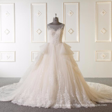 Sleeveless bal gown wedding dress 2017 Vestidos de novia 2017