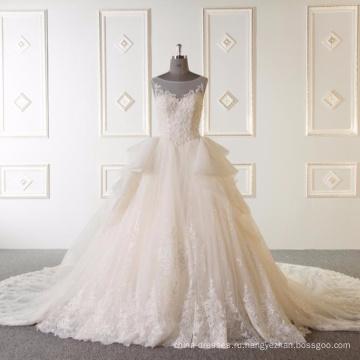 Рукавов бальное платье свадебное платье vestidos де novia 2017 2017