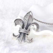 Corações estilo vintage corações 925 esterlina tailandês jóias pingente de prata colar homens