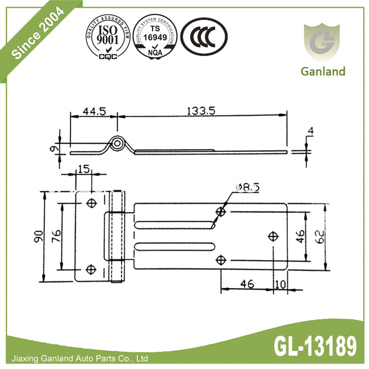 Heavy Duty Door Hinge GL-13189