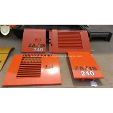 Painel da porta lateral para o mercado de acessórios da máquina escavadora EX240 de Hitachi