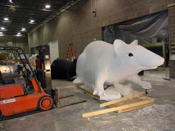 CNC foam cutting machine 3D foam cutting machine