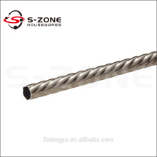 2014 new design the best iron rod for window curtain decoration
