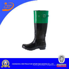 Ladies Knee High Rubber Rain Boots