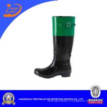 Дешевые Мода удобные резиновые дождя сапоги