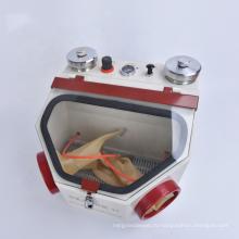 Высококачественный пескоструйный аппарат с двумя ручками для зуботехнической лаборатории