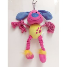 Colorful yarn rope pet toy
