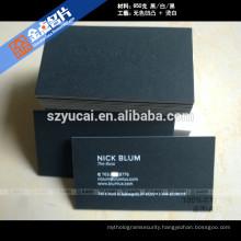 Silk screen embossing luxury business cards printers