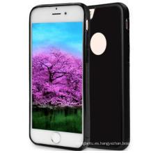 Estuche autoadhesivo, antigravedad, tecnología Nano-Suction Estuche a prueba de golpes, Selfie, sin manos, para Apple iPhone 7/6 Plus / 6s