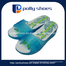 Crystal Jelly Sandal PVC Women Shoes Printing Insole