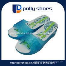 Хлопчатобумажные сандалии из ПВХ Женская обувь Печатная стелька