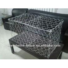 Fabricación de suministro de PVC revestido de malla de alambre hexagonal