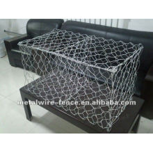 Fabricação de fornecimento de PVC revestido malha de arame Hexagonal