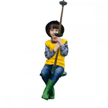Children Outdoor Swings Climbing Rope with Platforms