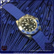 Yxl-710 Newly Iceful Stainless Steel Band Wrist Watch, Quartz Perlon Iceful Strap Watch