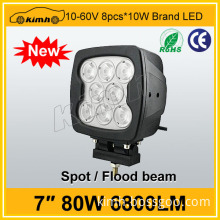 Wholesales 80W 6800LM led work light for trailer
