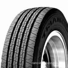 Radial Bus Tires, Straight Groove Design, Good Water Drainage, Uniformed Wear, Comfortable Ride