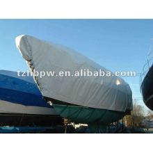 Tarpaulina de PVC para cobertura de navio