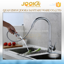 China high quality brass pull-out kitchen faucet
