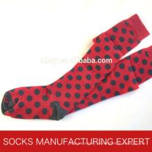 100% Baumwolle der Frau Coloful Tube Sock (UBM1045)