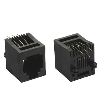Rj45 jack top entry 6p6c