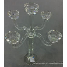 Crystal Candle Holder with Five Posters