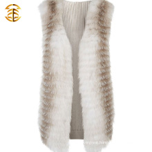 Chinese Wholesale Long Style New Women's Real Fox Fur Vest