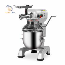 ETL approval bread dough egg bakery baking kitchen spiral planetary mixer meat grinder stand dough mixer 20 liter