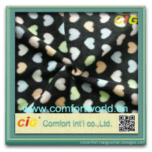 Fashion new design fdy aop polyester polar wholesale high quality fleece fabric