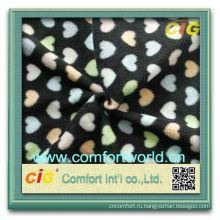 Мода новый дизайн fdy АОП полиэстер полярных оптом высокого качества ватки ткани