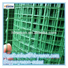 factory welded wire mesh panels / pvc coated welded wire mesh