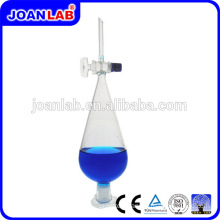 JOAN LAB Hot Sale Pear Separatory Funnel With Glass Stopper