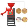 DAWN AGRO Multifuncional Mini Máquina De Moagem De Arroz / Pequeno Arroz Fresadora Maquinaria De Barking De Preço Barato 0811