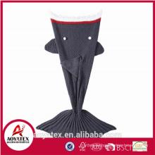 Cheap Soft Blanket Mermaid Tail Crocheted Mermaid Tail Blanket
