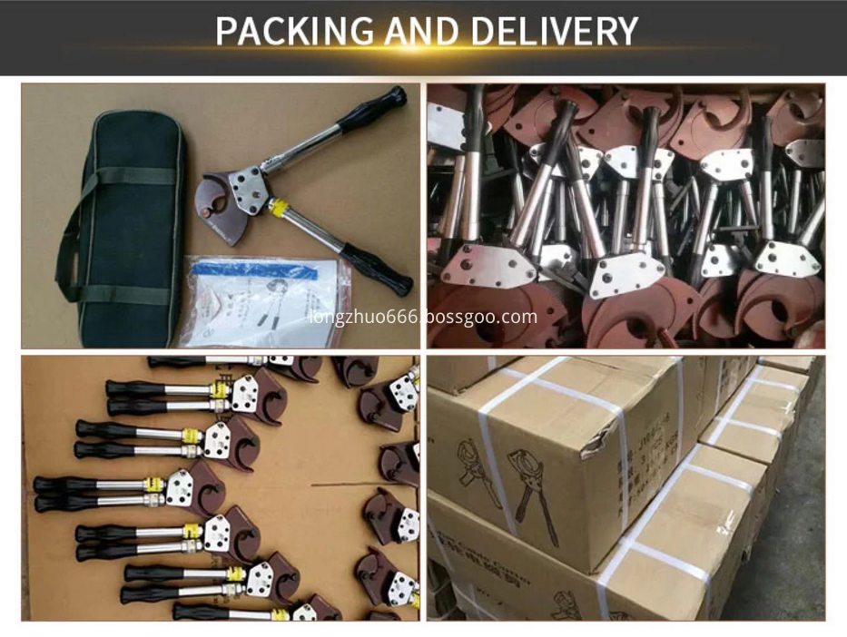 packing and delivery