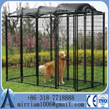 China wholesale Large outdoor metal dog cages kennels dog crate large, chain link dog kennel                                                                         Quality Choice