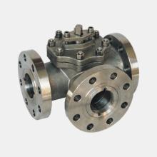 Titanium alloy valve assembly