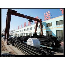 FinIshed Corrugted Sidewall Conveyor Belt