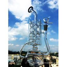 Großhandel Inline 3 Schichten Recycler Glas Rohr