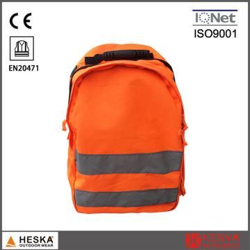Оптовая дешевые Мужские безопасности высокой видимости работы отражает сумка рюкзак