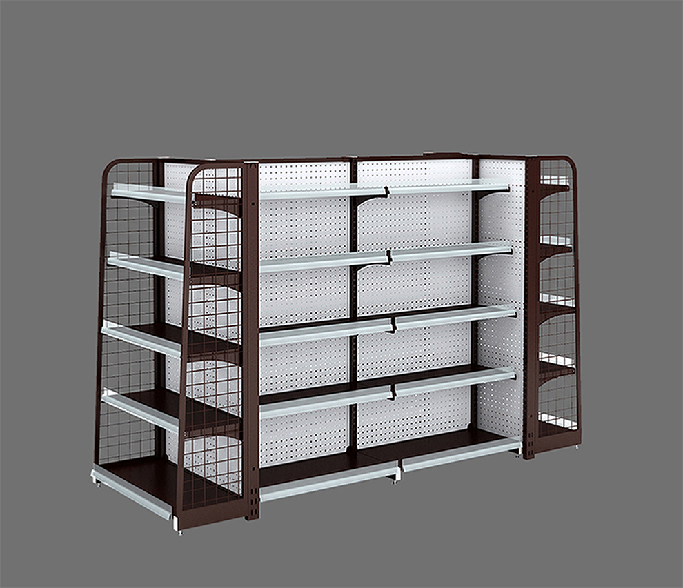 Supermarket Backhole Display Shelving