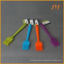 Cepillos de silicona resistentes a la temperatura para cocinar o asar a la parrilla o para hornear