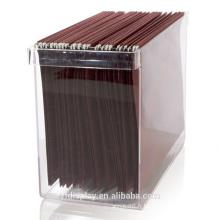 Porte-fichier acrylique personnalisé