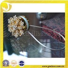 Занавески с цветочным бриллиантом для домашнего декора