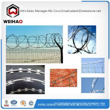 Bahamas salable anti-theft galvanized razor barbed wire/razor wire