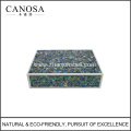 Star Hotel Mosaic Mother of Pearl Amenity Boxes